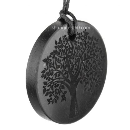 engraved jewelry of natural healing stone
