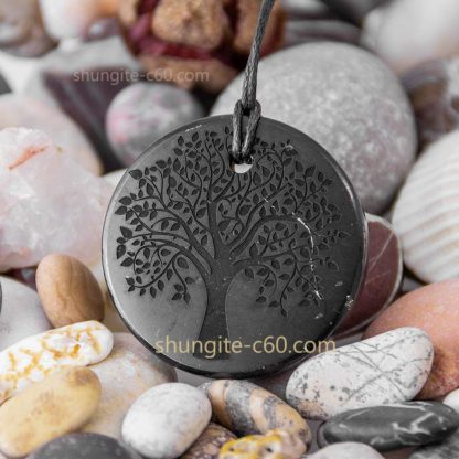 carved stone necklace
