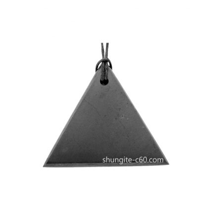 men's shungite pendant necklace from real shungite