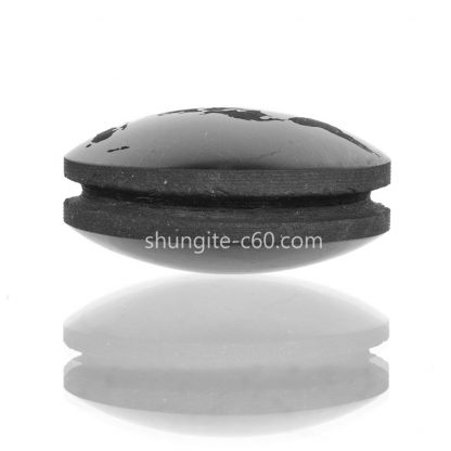 engraved necklace of shungite
