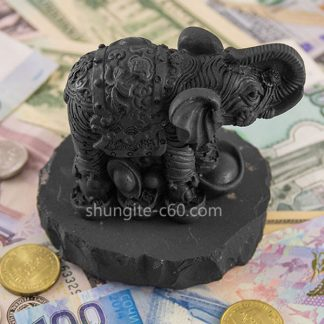 figurine of shungite mony elephant