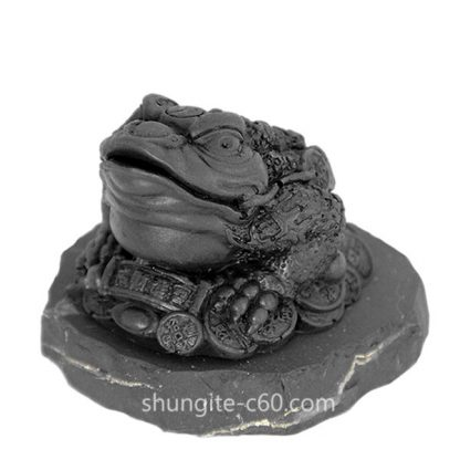 money toad made of shungite