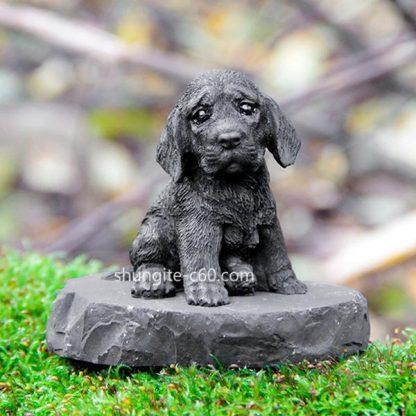 shungite figurine labrador