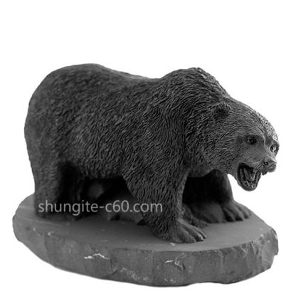 shungite figurine russian bear