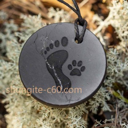 loyal friend necklace friendship footprints pendant