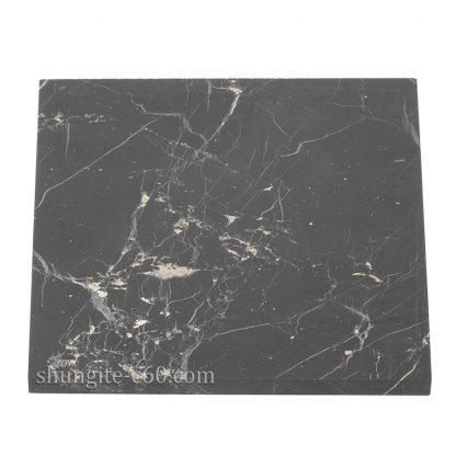 unpolished square tile of natural rock