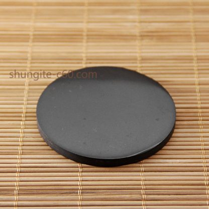 shungite plate with a magnet