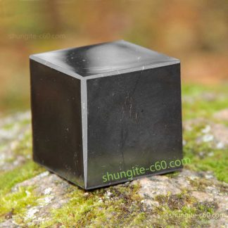 shungite polished cube