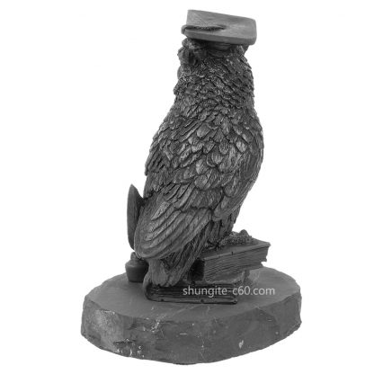 shungite statuette wise owl