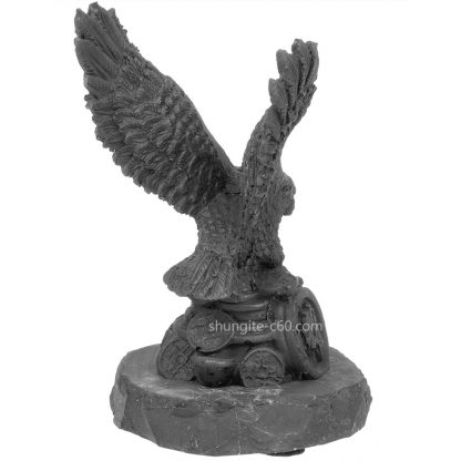 figurine of shungite eagle