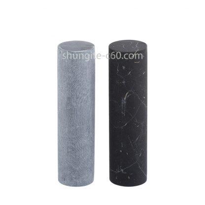 soapstone cylinders harmonizers unpolished