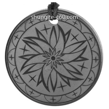 necklace of shungite mandala transformation