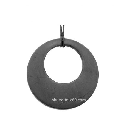 necklace for protection of shungite stone circle