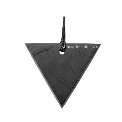 shungite pendant for women