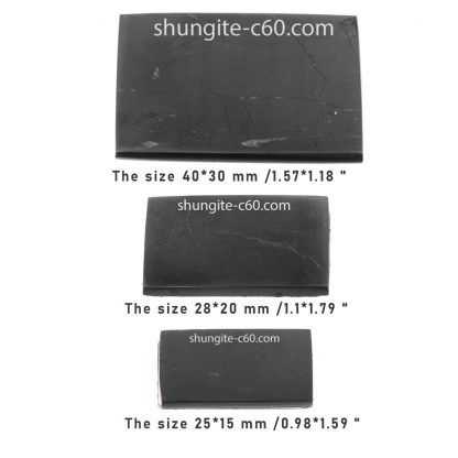 shungite plate for phone variable size