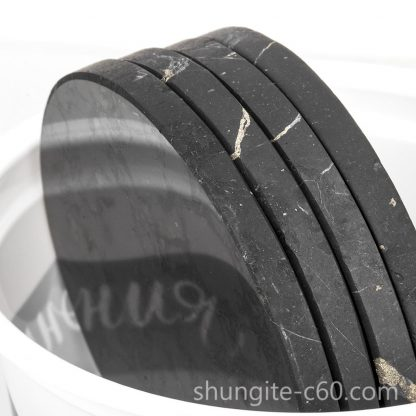 sshungite plate with a magnet