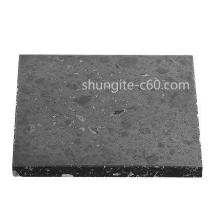 shungite polished tile
