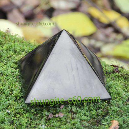 black shungite pyramid
