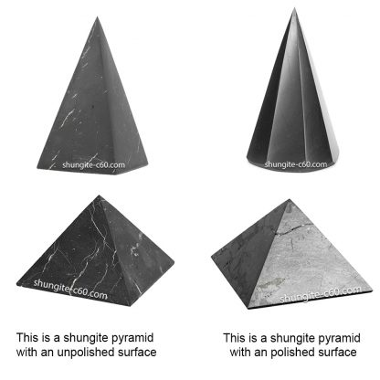 Pyramid surface treatment options
