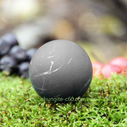 shungite sphere from russia