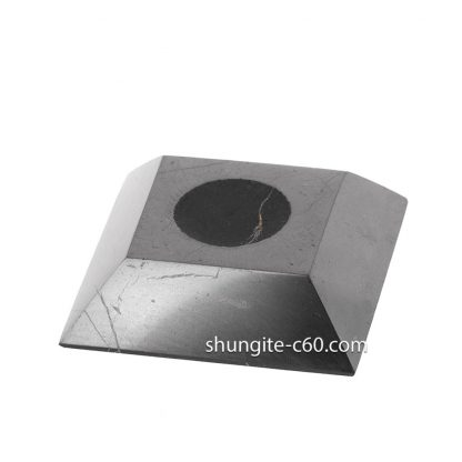 Shungite Stands for Spheres square shape