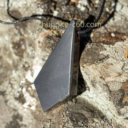 shungite pendant spiritual perfection