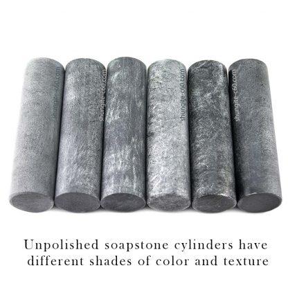 soapstone unpolished wands