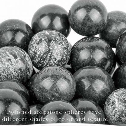 soapstone spheres harmonizers for meditation