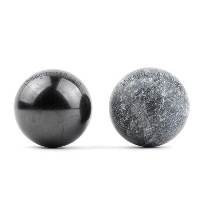 shungite spheres harmonizers for meditation