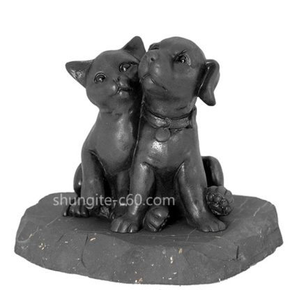 shungite figurine puppy