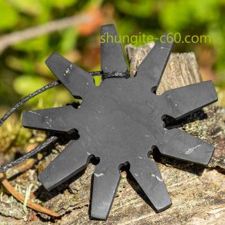 real shungite pendant