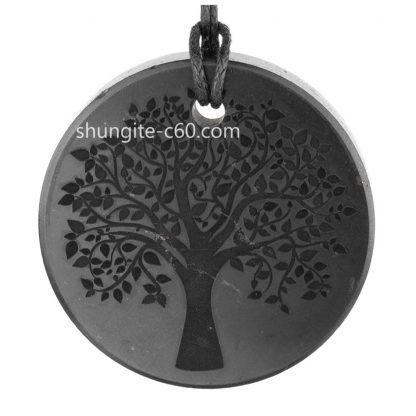 tree of life necklace of stone shungite