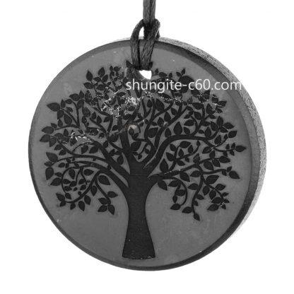 tree of life pendant of shungite