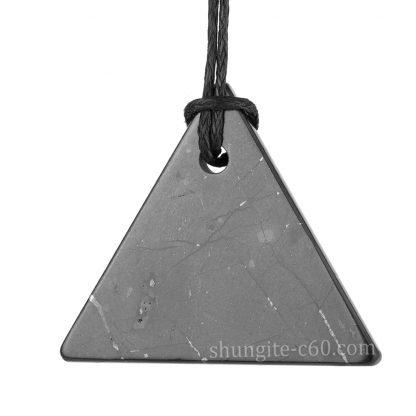 men's shungite pendant