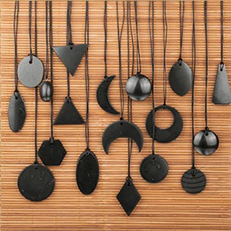 Shungite Pendants and Jewelry