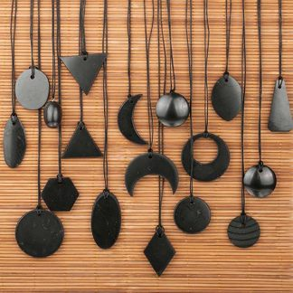 Shungite Pendants in assortment