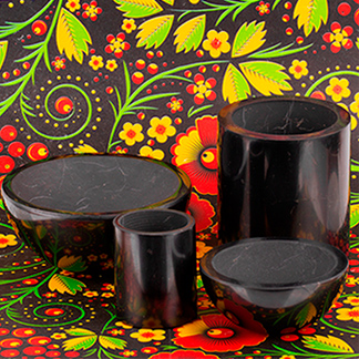 Shungite tableware