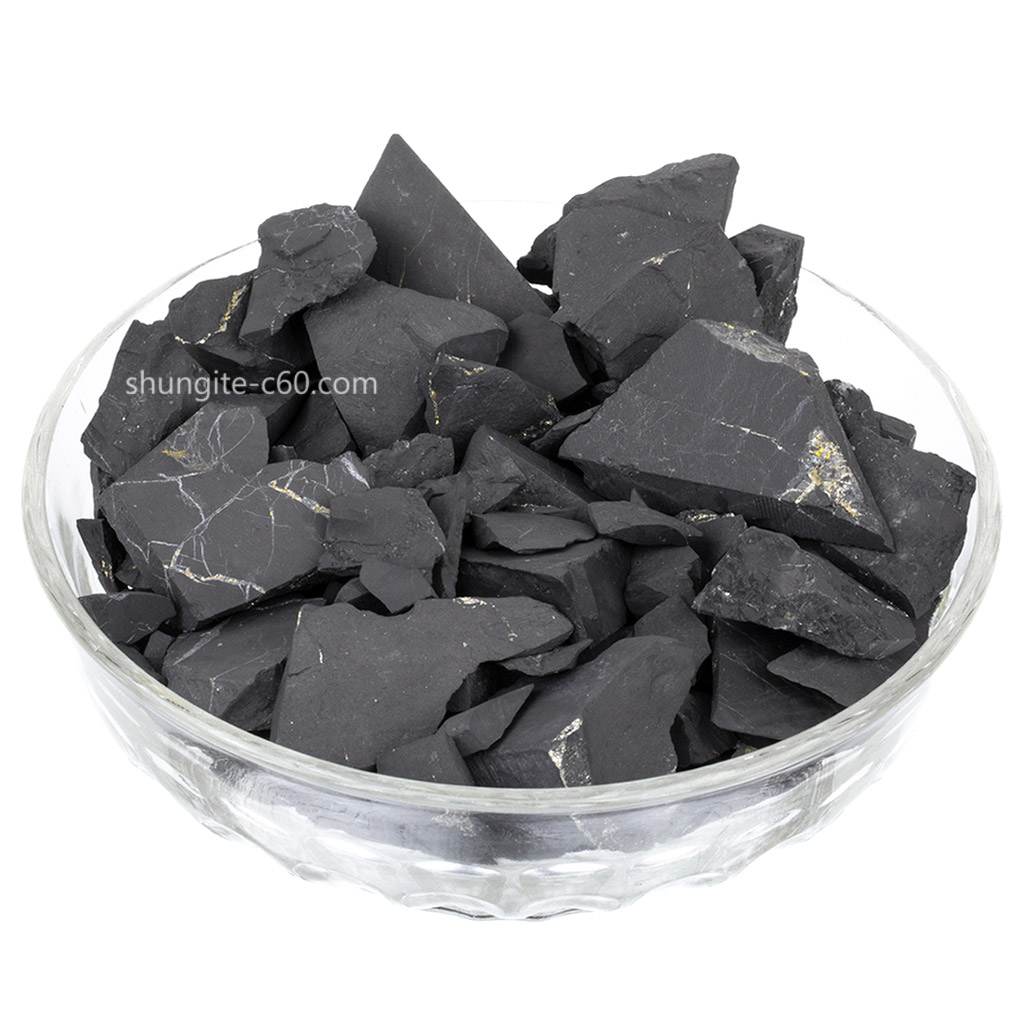 Shungite for water purification