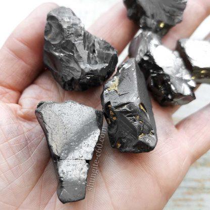 elite noble shungite stones