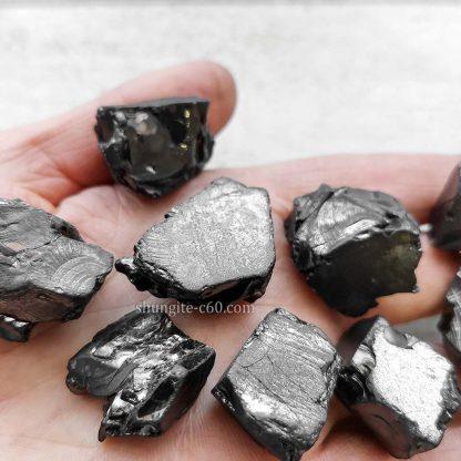 raw shungite stones karelian