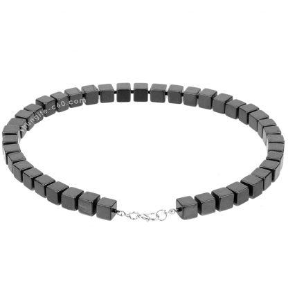 shungite necklace for men handmade