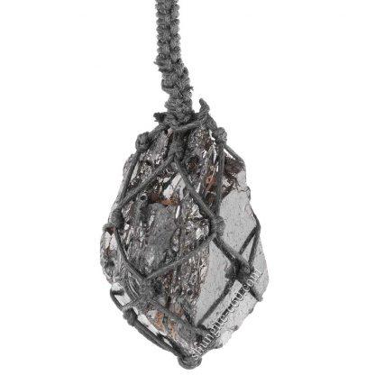 braided shungite necklace lot 23