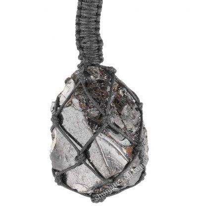 braided shungite necklace big size lot 23