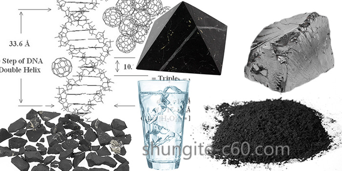 the use of shungite and powder