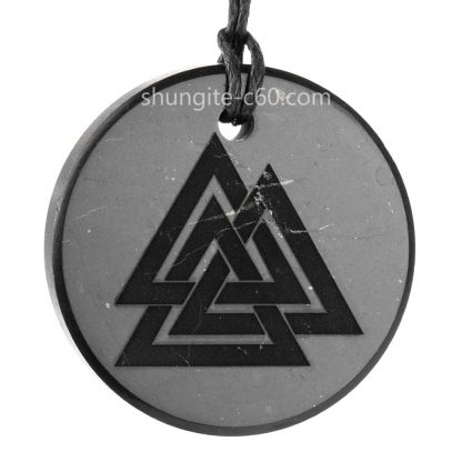 Valknut-pendant-of-shungite