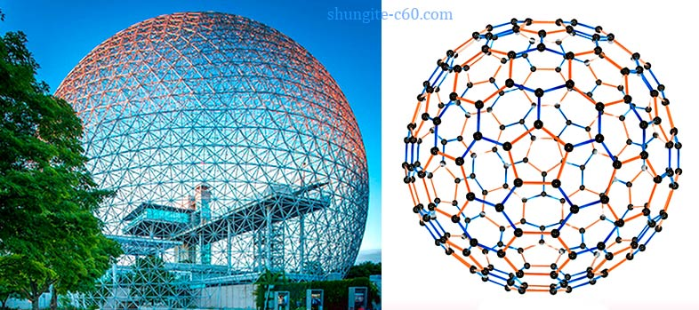 buckminsterfullerene building