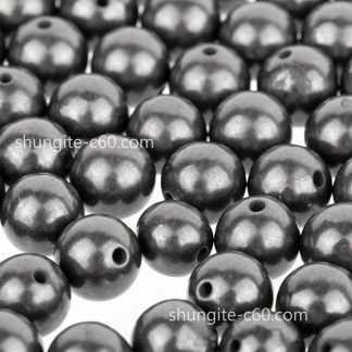 shungite stone beads for sale