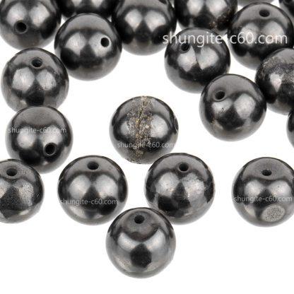 shungite beads 10mm