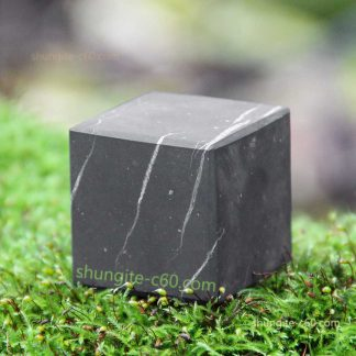 shungite cube unpolished surface
