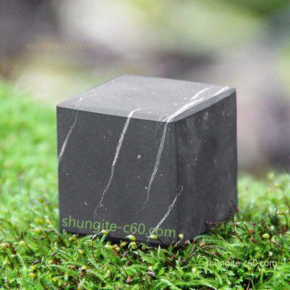 shungite cube unpolished surface